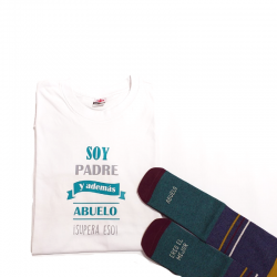 Camiseta Abuelo Detalletes