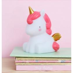 Unicornio Lamparita Detalletes