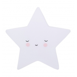 Lamparita Estrella Blanca