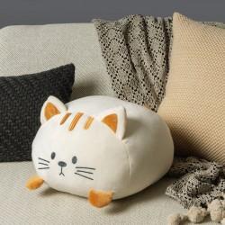Cojin gato Blanco Detalletes