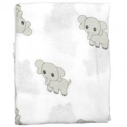 Muselina bebe elefantitos