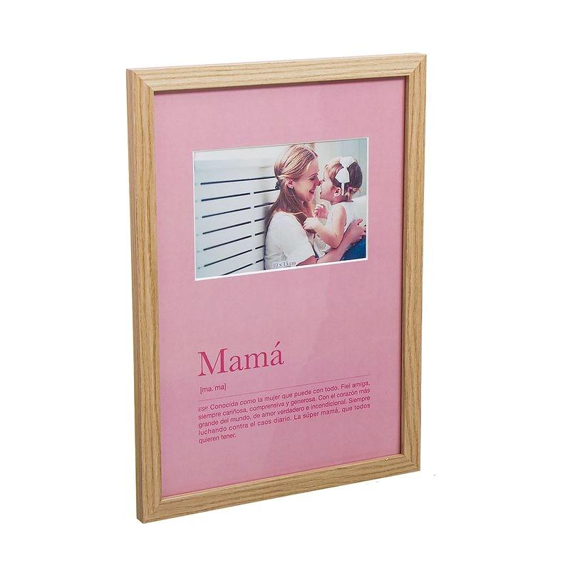 Portafotos definición mamá
