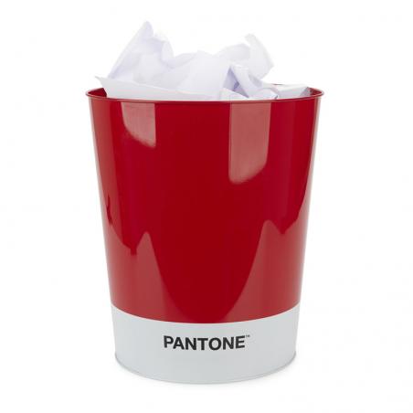 Papelera Pantone Roja