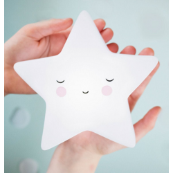 Detalletes Lamparita Estrella Blanca