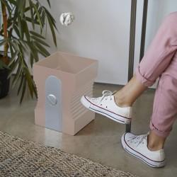 Detalletes papelera rosa